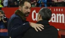 مدرب اشبيلية سعيد بالفوز ويؤكد صعوبة الاياب امام برشلونة