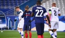 إحصاءات من مباراة فرنسا - فنلندا
