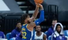 NBA: ووريوز يخطف الفوز من بولز في الثانية الاخيرة