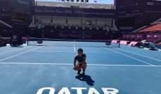 بطولة قطر للتنس: نافارو الى الدور الثاني على حساب جابر