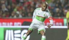 الإصابة تحرم الجزائر من براهيمي امام غينيا في دور الـ 16 بأمم أفريقيا