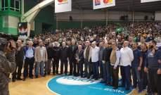 خاص : مشاهدات مباراة الحكمة و الرياضي في بطولة لبنان لكرة السلة