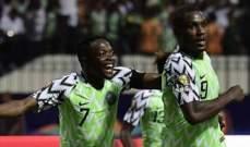 امم افريقيا: نيجيريا تقسو على جنوب افريقيا وتتأهل لنصف النهائي