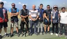 """رماية : أحمد دعكور بطل المرحلة السادسة من بطولة لبنان للتراب الفئة """"أ"""""""