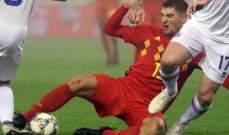 الاصابة تحرم مونييه من المباريات الدولية