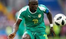 ماني : سعيد بجائزة رجل المباراة امام كينيا والحصول على النقاط الثلاث