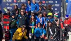 نتائج المرحلة  الأولى لبطولة لبنان للأولاد في التزلج بالمزار كفردبيان