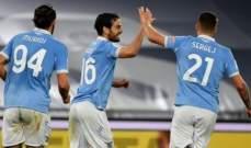 كأس ايطاليا: لاتسيو يحسم تأهله في الدقائق الاخيرة امام بارما