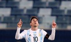 احصائيات عن الأرجنتين بعد الفوز على الإكوادور
