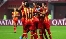 الدوري التونسي: الترجي يحضر لمواجهة الزمالك بالفوز على حمام الأنف