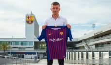 برشلونة يتعاقد مع ابن وكيل اعمال دي يونغ