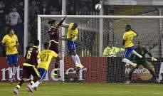 سيلفا أفضل لاعب في مباراة البرازيلي امام فنزويلا