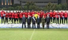 منتخب البحرين العسكري لكرة القدم بطلا للعالم وقطر الوصيف