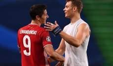 نوير: ليفاندوفسكي هو الأفضل في العالم
