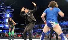 هاردي يفوز على ناكامورا بفضل اورتن وتجدد الخلاف بين ميز وبراين