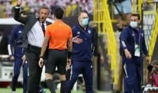 اخطاء عدة وقع فيها الحكم الهويش في مباراة الفيصلي والنصر