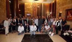 حفل استقبال للمشاركين في المؤتمر الدولي للمحركات المائية