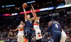 NBA: دنفر يهدد صدارة الواريرز والنيكس يتلقى الخسارة ال11 المتتالية