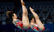 غطس- طوكيو2020: الصين تحرز ذهبية الغطس