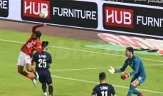 الدوري المصري: تعادل سلبي في موقعة الأهلي وبيراميدز