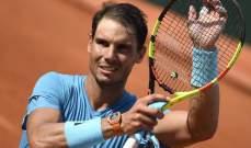 نادال يحافظ على صدارته في التصنيف العالمي للاعبي كرة المضرب