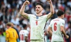 رايس يصبح عمّا خلال فوز انكلترا على الدنمارك
