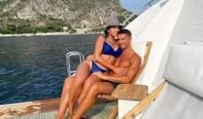 رونالدو يشارك اللحظات الجميلة مع جورجينا