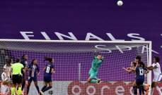 باريس سان جيرمان يودع دوري الابطال عند السيدات بسبب خطأ من حارسة الفريق