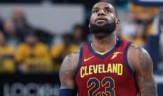 NBA : إنديانا بايسرز يفوز على كليفلاند كافالييرز ويتقدم بالسلسلة