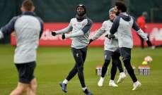 لقطات من تدريبات ليفربول