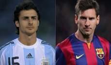 بابلو ايمار: ميسي من بين أفضل 5 لاعبين في تاريخ كرة القدم