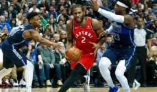 NBA: ميلووكي يسقط بعد 6 انتصارات وتورنتو يفوز على دالاس