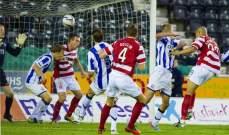 الدوري الاسكتلندي: كليمارنوك الى المركز الثاني مؤقتاً رغم التعادل