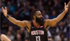 NBA : هيوستن روكيتس يفوز على شارلوت هورنيتس و35 نقطة لوالكر