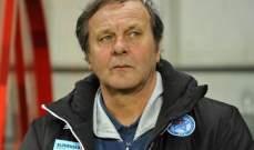 مدرب سلوفاكيا يستقيل من منصبه