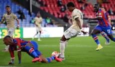 مانشستر يونايتد يفرض معركة حامية على تشيلسي وليستر بفوزه امام كريستال بالاس
