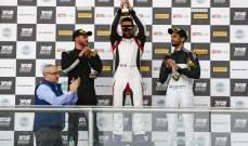 السائق الإسباني كيبا كرامونا يتوج ببطولة تي آر دي 86 في ابو ظبي