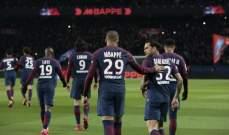 ارقام واحصاءات  مباراة مارسيليا وباريس سان جيرمان في الدوري الفرنسي