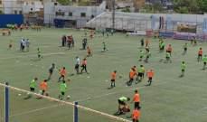 """900 طالب شاركوا في مشروع """"كرة القدم والتماسك الاجتماعي"""""""
