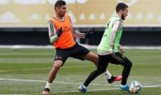 ريال مدريد يستعيد هازارد قبل الديربي