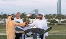 شعلة الاولمبياد الخاص تحط في الامارات