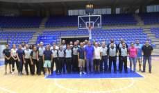اتحاد السلة يفتتح دورة صقل للحكام الاتحاديين وكرة الطاولة
