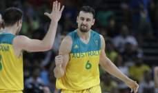 سيمونز ،بوغات وميلز يتقدمون تشكيلة أستراليا في كأس العالم لسلة