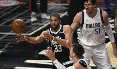 NBA: تأهل فيلادلفيا وهوكس وجاز وكليبرز يؤخر الحسم امام مافريكس