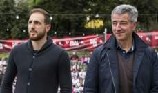 رئيس اتلتيكو مدريد يرافق اوبلاك الى سلوفينيا