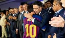 بارتوميو: ميسي يريد إنهاء مسيرته في برشلونة وتضرّرنا بشدّة من أزمة كورونا