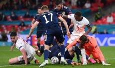 ابرز احصاءات مباراة انكلترا واسكتلندا