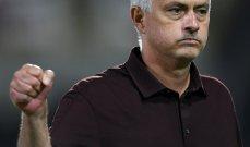مورينيو: من المستحيل ان لا يفوز روما بهذه المباريات