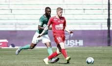 الدوري الفرنسي: سانت إيتيان يتعادل أمام ضيفه بريست