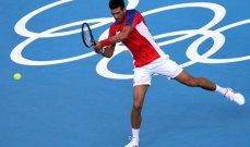 أولمبياد طوكيو - كرة مضرب: ديوكوفيتش إلى ربع النهائي ويعادل رقم موراي